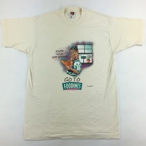 Vintage 1997 Foodini's 'Know Your Limitations'